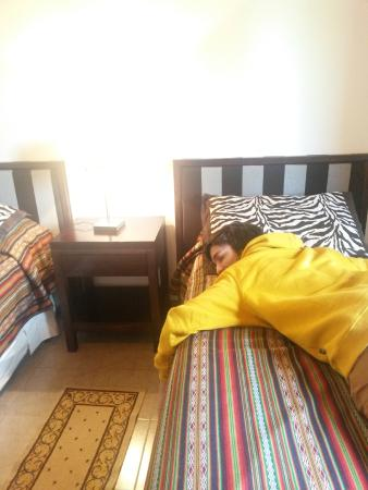 Cabanas Normana Inn: 2 camas individuales