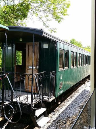 Chemin de Fer de la Baie de Somme: Wagon of the train