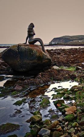 Balintore, UK: Mermaid sitting on her rock