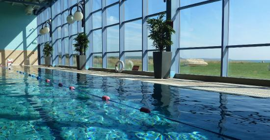 Quality Hotel Leisure Center Youghal Swimmingpool Overlooking The Beach At