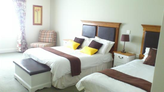 Ballycannon Lodge: Lovely comfy bed.