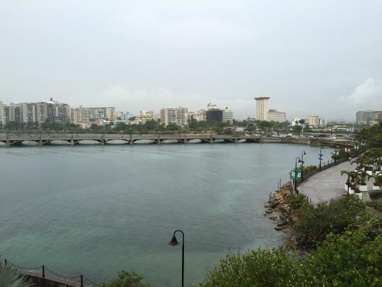 Condado Lagoon Villas at Caribe Hilton: Excelente vista