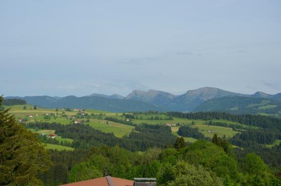 Allgau Landhotel Oberreute: Aussicht vom Zimmer