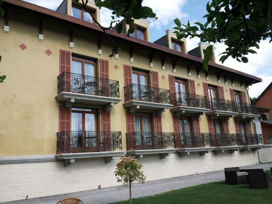 Villa Morelia: vue sur les chambres