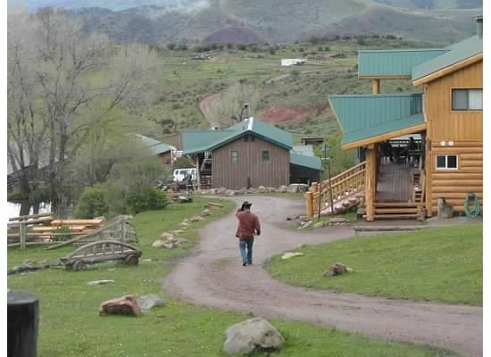 Black Mountain Ranch: the view from our cabin