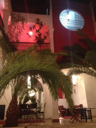 Riad Fabiola: Le soir