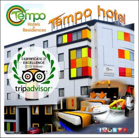 Tempo Hotel Caglayan: Tripadvisor 2015 Mükemmellik Ödülü