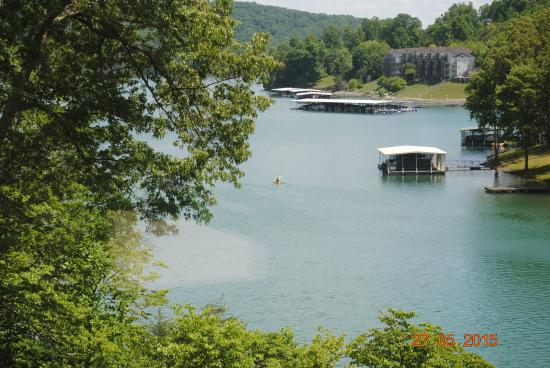 Norris Lake: View from the house