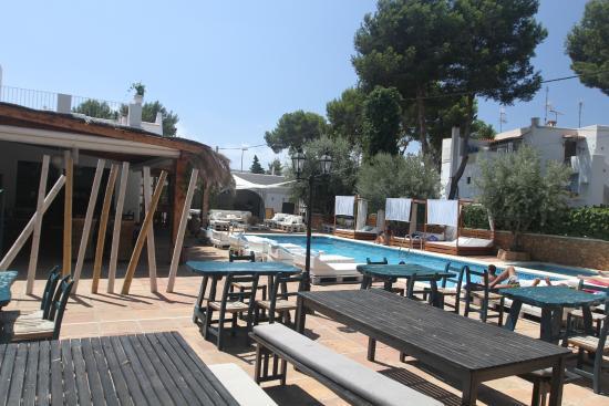 столы на улице Picture Of Acora Ibiza Santa Eulalia Del Rio