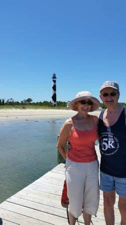 Harkers Island, Carolina do Norte: Cape Lookout Lighthouse