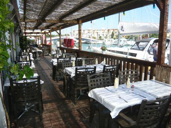 la terrasse photo de hotel port gruissan tripadvisor