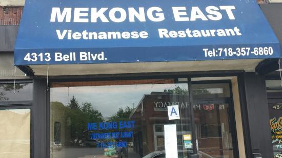 Mekong East Vietnamese restaurant on Bell blvd Bayside