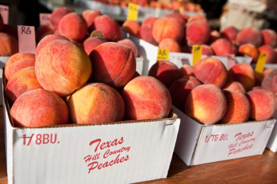 It's peach season in Fredericksburg- come and get 'em!