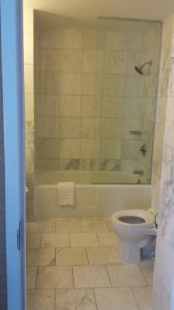 Berkeley Oceanfront Hotel: Updated bath