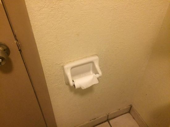 Americas Best Value Inn Nashville North / Goodlettsville: How do I know who touched this toilet paper last had clean hands?