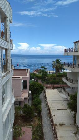 Romeo Otel: balkon manzarası