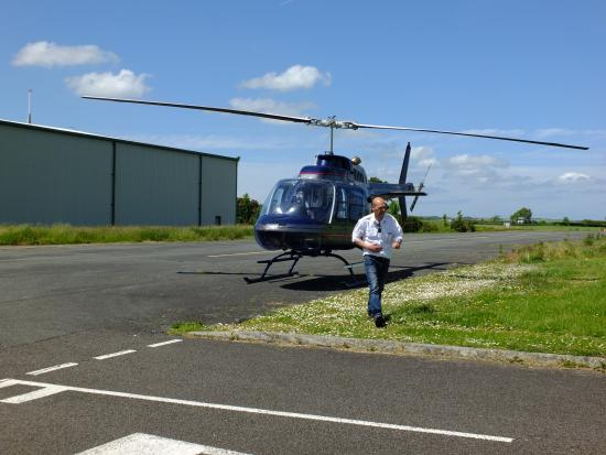Bell Helicopter Preparing For Next Flight  Picture Of Fly Heli Wales Haverf