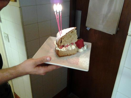 Burrelton, UK : birthday surprise
