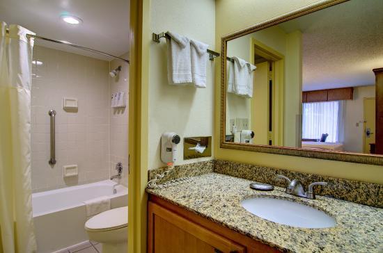 Best Western Dulles Airport Inn: Guest Bathroom