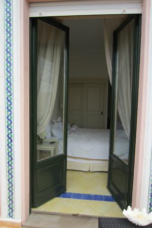 Casa Mariantonia: Looking in the room from the blacony