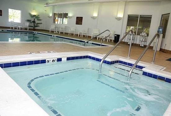 Jameson Inn & Suites: Enjoy the Indoor Pool