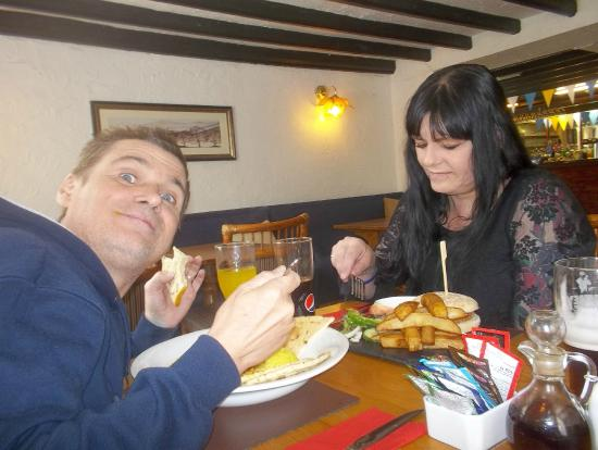 The Denison Arms: He enjoyed the curry so much