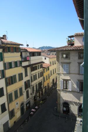 Black 5 Florence: View from room towards Piazzale Michelangelo