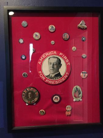 Staunton, VA: Presidential buttons