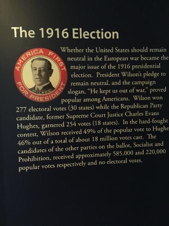 Staunton, VA: Description of the 1916 Election