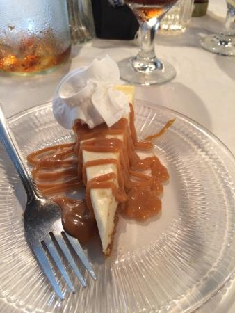 Carriage House Restaurant @ The Myrtles Plantation: Best cheesecake ever!! Light and fluffy with homemade caramel. This is to die for!!