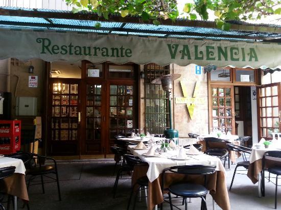 Restaurante Valencia: Fuori dal ristorante