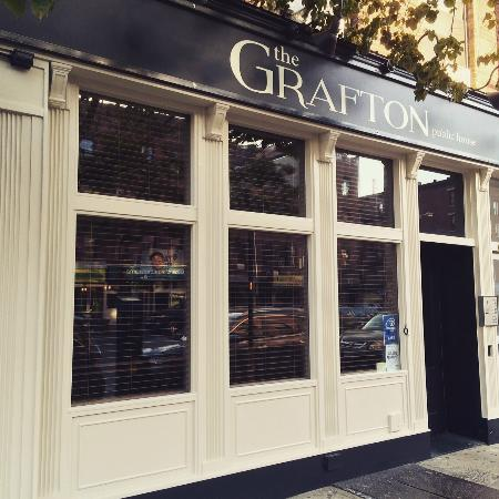 Photo of American Restaurant The Grafton at 126 1st Ave, New York City, NY 10009, United States