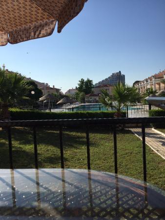 Altinkum, تركيا: View from villa