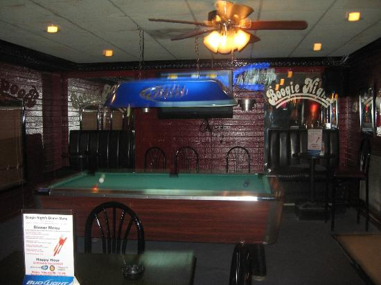 Pool Table And Seating Picture Of Boogie Nights Jackson TripAdvisor - Pool table seating