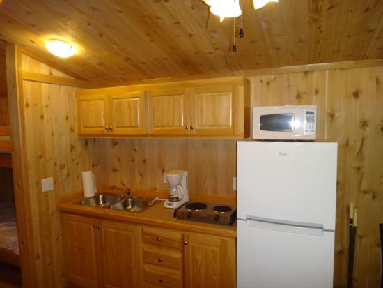 Saco River Camping Area: Cabin - Interior 2