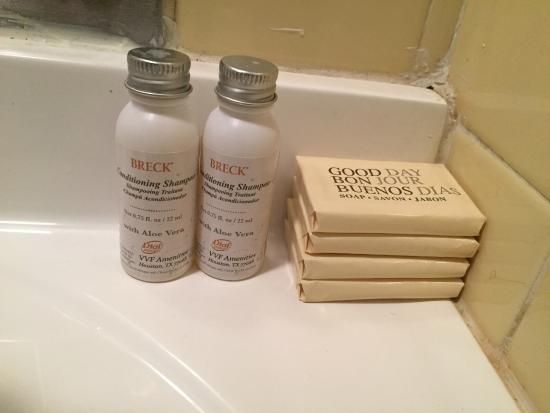 The Crow's Nest: soap in bathroom