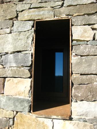 Tavertet, สเปน: Detail - Fenster zur Lobby