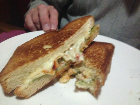 Dan'l Webster Inn & Spa: Lobster Grilled Cheese Sandwich