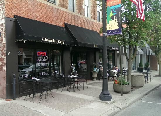 Chandler Cafe: Restaurant Front