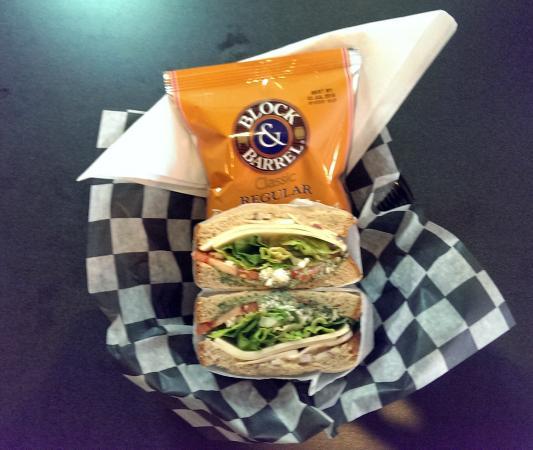 Chandler Cafe: Heritage Garden Sandwich