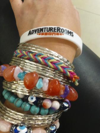 AdventureRooms Dublin: Adventure Rooms wristband