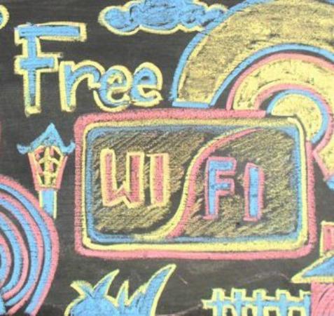 The Munajat Backpacker: Free WiFi