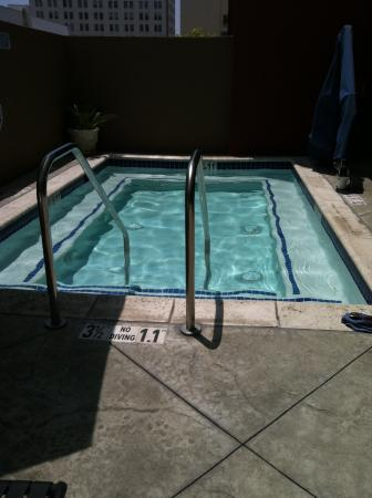 Holiday Inn Express - Los Angeles Downtown West: Personal pool size about 10x12'.