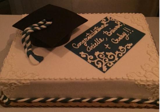 Graduation Cake Picture of Fontainebleau Miami Beach Miami Beach