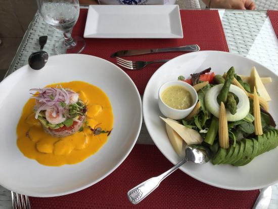 El Gran Inka: Excelente menú súper recomendable.