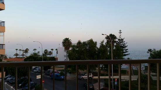 Apartamentos Andalucia: view from balcony