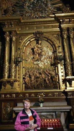 Esglesia de Betlem: Iglesia de Belen inside the altar