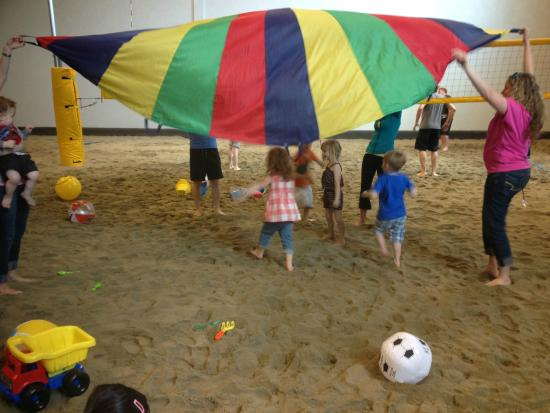 Kids birthday party Picture of 6Pack Indoor Beach Centre