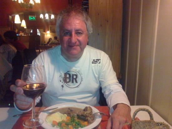 Hosteria La Casita: cena