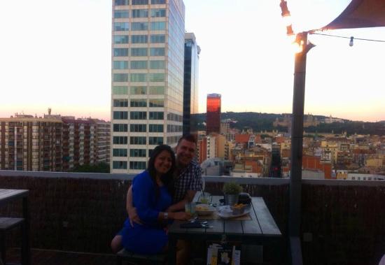 Thursday night picture of la terraza bcn urban club for La terraza barcelona